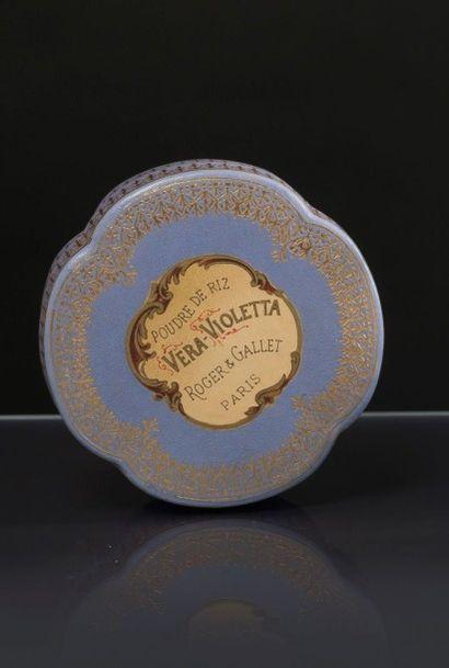 Roger & Gallet «Vera Violetta» - (années 1890) En excellent état de fraicheur, boite...