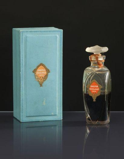 Roger & Gallet «Salvia» - (années 1920) Présenté dans son coffret carton titré, intérieur...