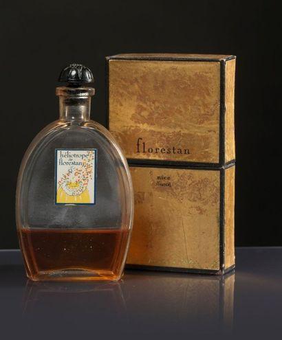 FLORESTAN «Héliotrope» - (années 1925-1930) Présenté dans son coffret étui carton...