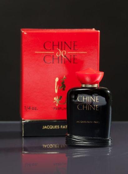 Jacques FATH «Chine de Chine» - (années 2000) Présenté dans son coffret carton titré...