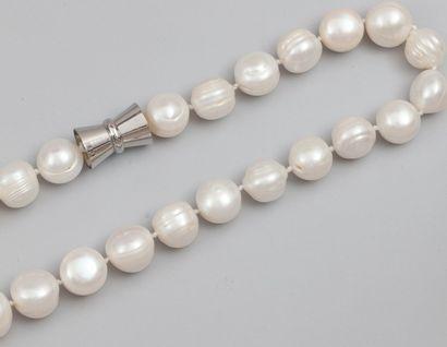 Collier de perles de culture baroques