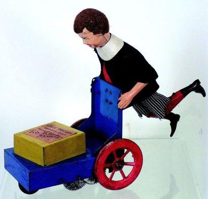 «Le Petit Livreur» Jouet mécanique plagié...