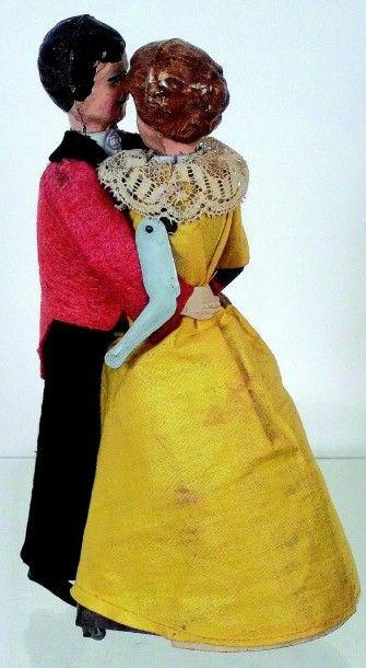 «Les Valseurs» jouet mécanique romantique...