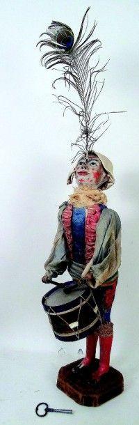 «Clown musicien et équilibriste» automate...