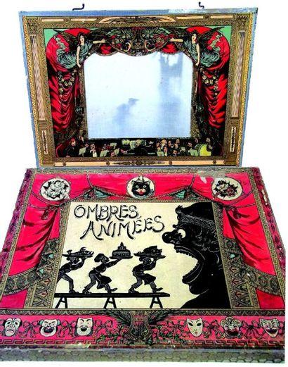 «THEATRE d'OMBRES ANIMEE» avec théâtre translucide...