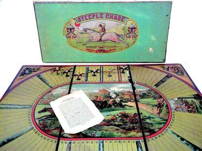 «STEEPLE-CHASE» superbe et grand jeu de société...
