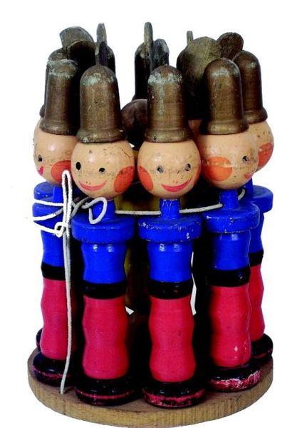 «Les POMPIERS», amusant jeu de quilles en...