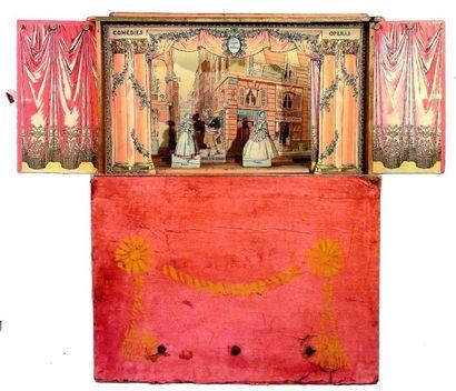 «THEATRE en MINIATURE» rare théâtre de table...