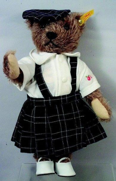 Teddy gris de fabrication allemande de marque...