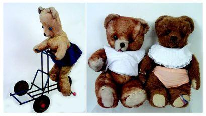 Deux ours français de la maison PINTEL en...
