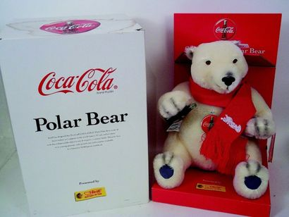 «Ours Polaire Coca Cola», fabrication STEIFF,...