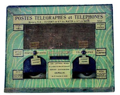 «POSTES, TELEGRAPHES & TELEPHONES» Boîte...