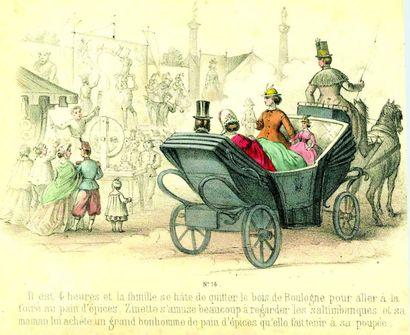 «Mademoiselle ZINETTE ou la journée de plaisir d'une petite fille bien sage avec...