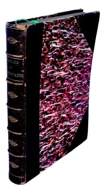 Grand ouvrage «Les Fables de La Fontaine»...