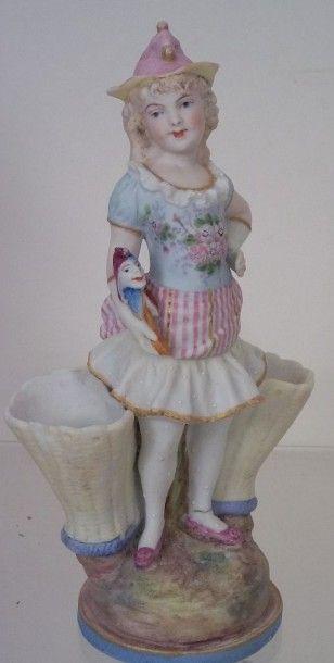 «Petite fille avec Polichinelle» ravissant...