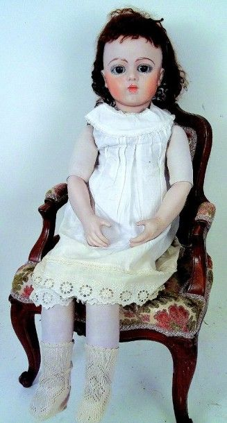 Replica d'un Bébé BRU avec tête pivotante...