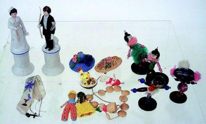 Ensemble de petits fétiches miniatures +...