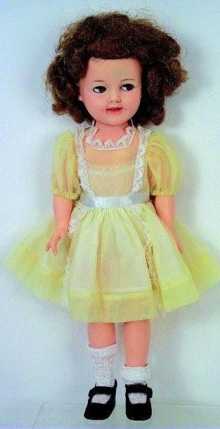 «Shirley TEMPLE» poupée en PVC, fabrication...