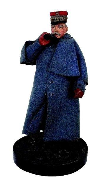 «Maréchal JOFFRE» extrêmement rare statuette...