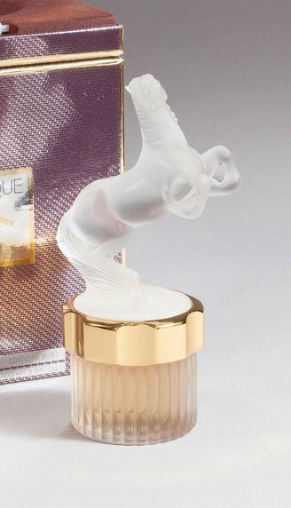 Flacon mascotte «Cheval» H:20cm