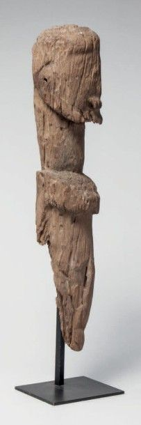Dogon, Mali. Important fragment de statue...