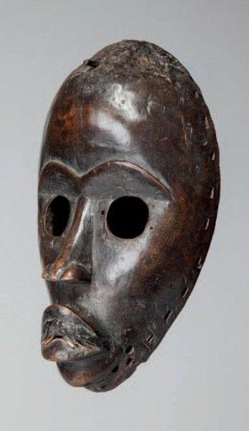 Dan, Côte d'Ivoire. Masque de course aux...