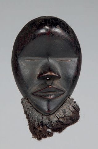 Dan, Côte d'Ivoire. Masque passeport portant...