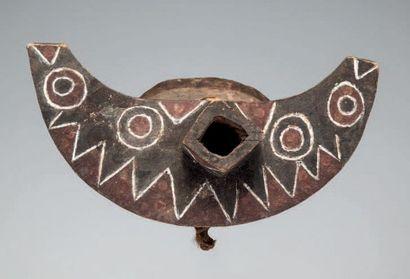 Bwaba, Burkina Faso. Rare masque épervier...