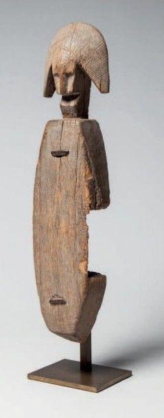 Bambara, Mali. Corps de serrure anthropomorphe...