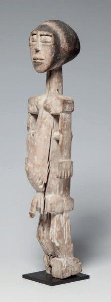 Korobo/ Adan, Ghana. Statue masculine de...
