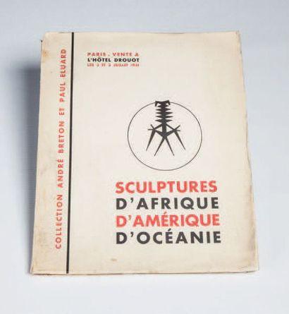 Catalogue de vente aux enchères de la collection André Breton et Paul Eluard, Paris...
