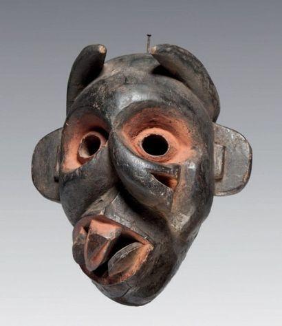 Ibibio, Nigéria. Masque maladie de composition...