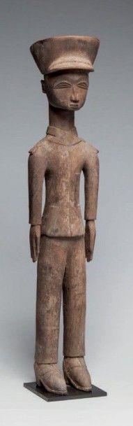 Lobi, Burkina Faso. Représentation d'un ancien...