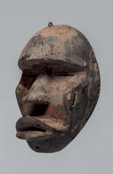 Dan/Kran, Côte d'Ivoire. Masque. Bouche,...