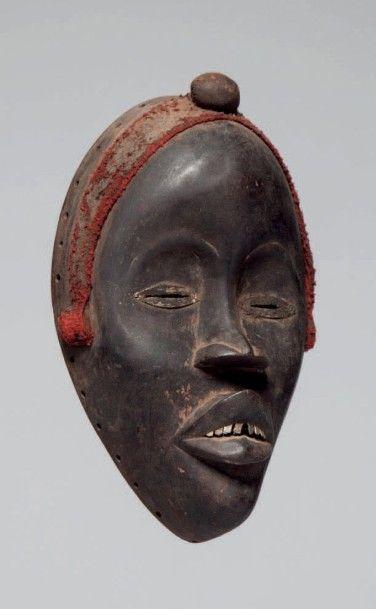 Dan, Côte d'Ivoire. Masque, yeux en amande...