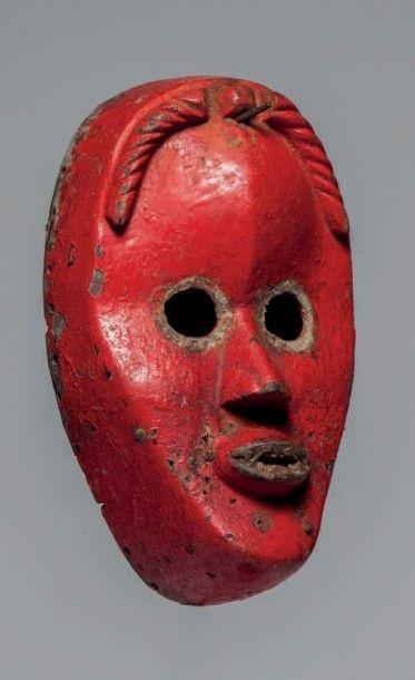 Dan, Côte d'Ivoire. Masque aux yeux ronds,...