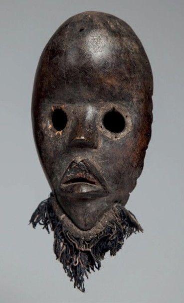 Dan, Côte d'Ivoire. Masque au visage ovale,...