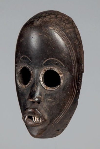 Dan Diomandé, Côte d'Ivoire. Masque aux yeux...
