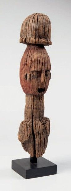 Oron, Nigéria. Fragment d'une statue archaïque...