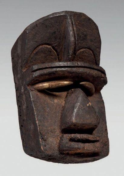Grebo, Côte d'Ivoire. Masque de sculpture...