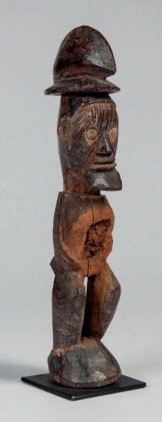 Téké, Congo. Statue représentant un dignitaire...