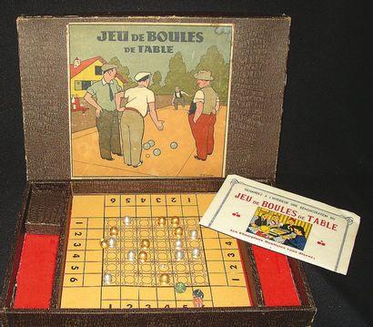 Très amusant et original jeu de «BOULES DE...