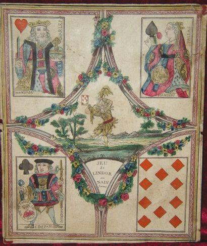 Très rare tableau de Jeu de LINDOR ou Nain...