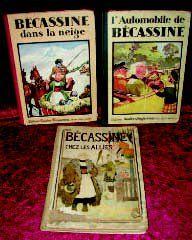 Trois éditions originales de BECASSINE :...