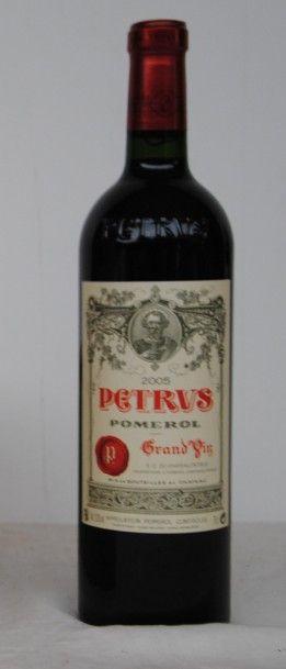 1 bout CHT PETRUS 2005