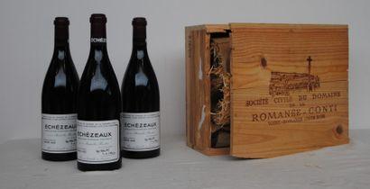 3 bout ECHEZEAUX DRC 2002