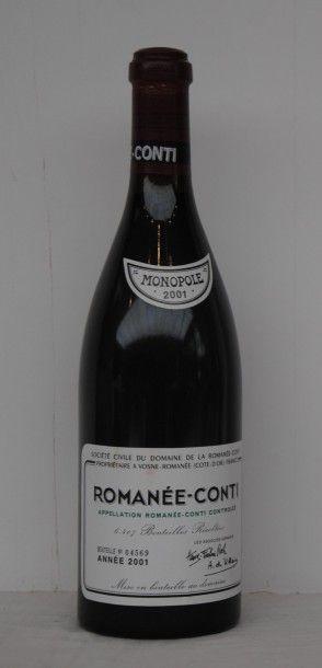 1 bout ROMANEE CONTI 2001