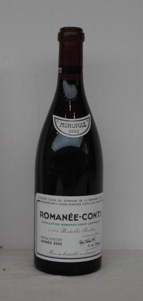 1 bout ROMANEE CONTI 2002