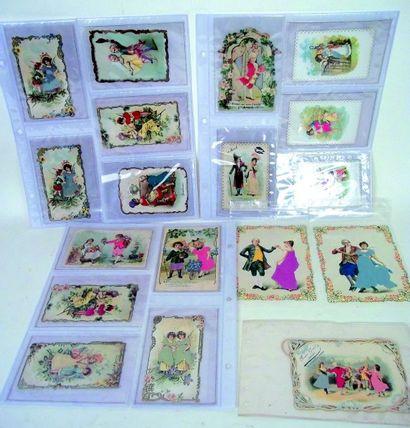 Ensemble de 32 images et cartes postales...