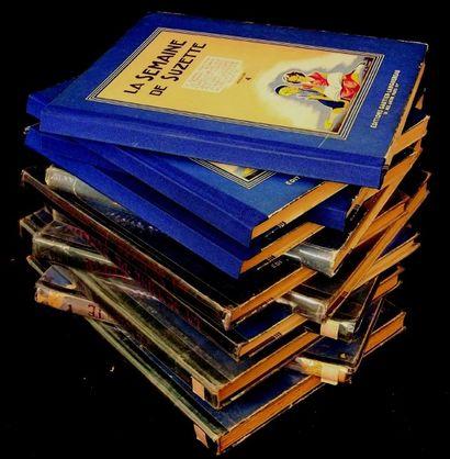 «La Semaine de Suzette» Eensemble d'albums...
